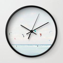 Kite Surfing Wall Clock