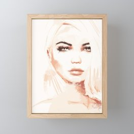 Tone Framed Mini Art Print