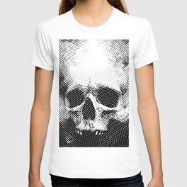 Engraving Skull T-shirt
