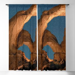 Double  Arch  - Nature Window in Utah Blackout Curtain