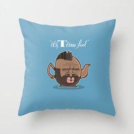 T-time Throw Pillow