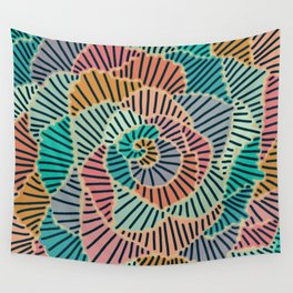 Curves 3 Wall Tapestry