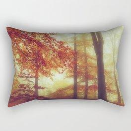 Dreamy Autumn Woodland Rectangular Pillow