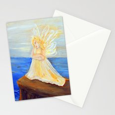 Invite your Angel | Angels are here Stationery Cards