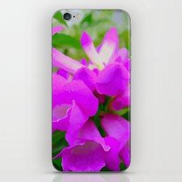Trumpet Flower 1 iPhone Skin