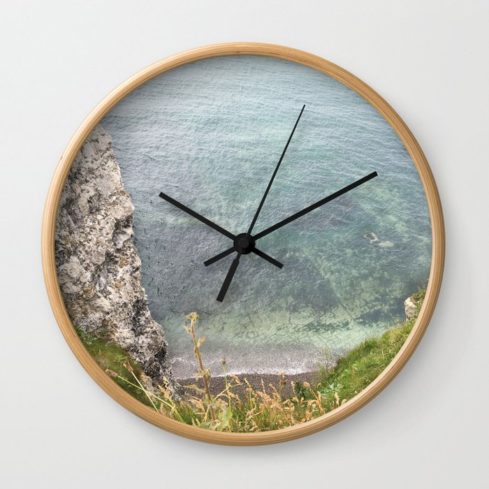 Etretat, France - Beach Wall Clock
