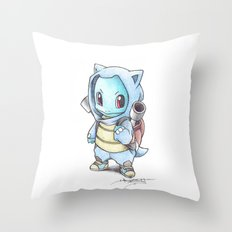 Blast from the... Future? Throw Pillow