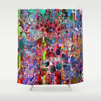 wooden Shower Curtains featuring wooden highlands by donphil