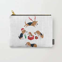 Beagle christmas Carry-All Pouch