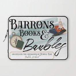 Barrons Books & Baubles Laptop Sleeve