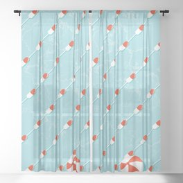 Pills Pattern 012 Sheer Curtain