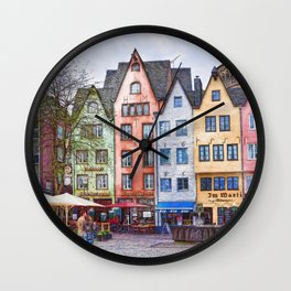 Colors of Germany Wall Clock