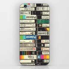 VHS Stack iPhone & iPod Skin
