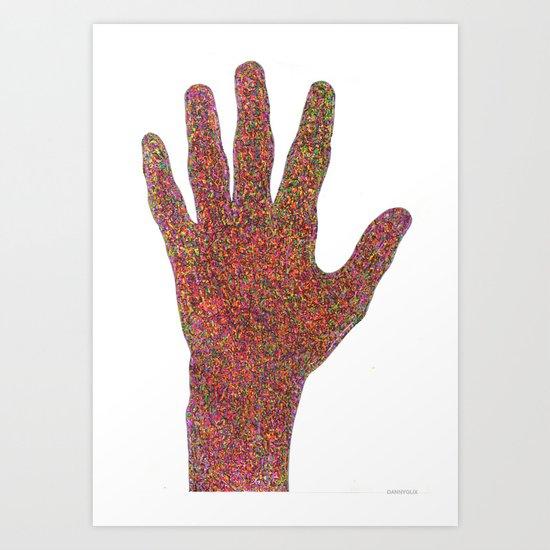 stop/hi Art Print