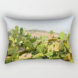 Prickly Pear in Sicily Rectangular Pillow