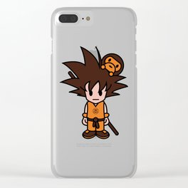 baby milo goku Clear iPhone Case