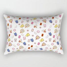 cardcaptor sakura cute stuff pattern Rectangular Pillow