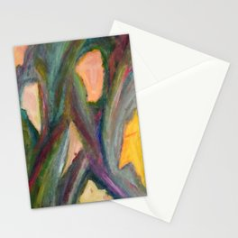A Family of Masks. Stationery Cards