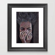 agoraphobia Framed Art Print