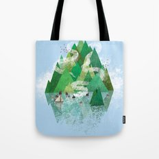 Mysterious Island Tote Bag