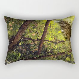Angels live in forests Rectangular Pillow