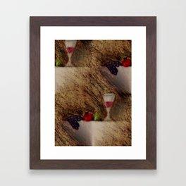 Plaisirs Fruits Framed Art Print