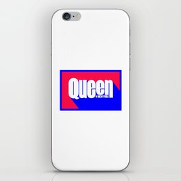 Queen of New York (Blue & Red) iPhone Skin