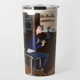 whats for dinner? Travel Mug