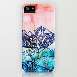 Textured Dreamscape iPhone Case