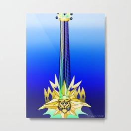 Fusion Keyblade Guitar #84 - Leopardus' Keyblade & Aubade Metal Print