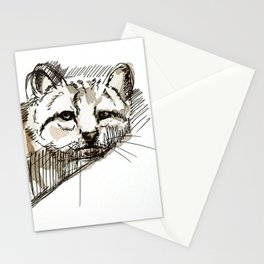 Totem Andean cat (AGA) Stationery Cards
