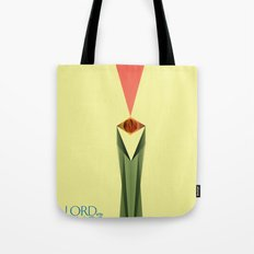 Lord of the Rings Minimal Film Poster Tote Bag