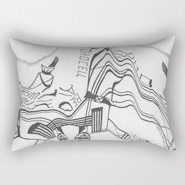 Russian Constructivism Scan Rectangular Pillow