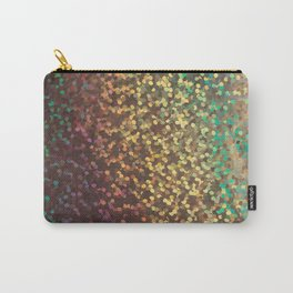 Multicolored and gold confetti Carry-All Pouch