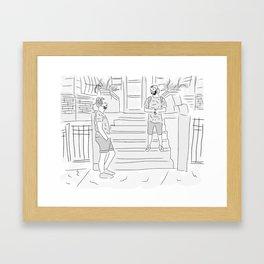 Prospect Place Framed Art Print