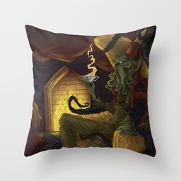 Creature Comforts: Cthulu Throw Pillow