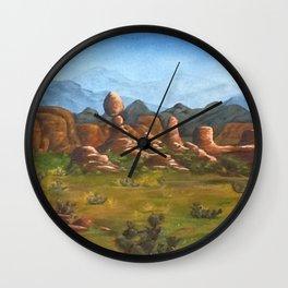 Moab Inspirations Wall Clock