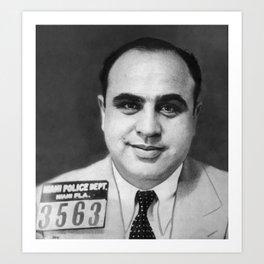 Al Capone - The Original American Gangster Art Print