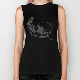 To the Moon Biker Tank
