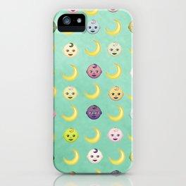 Pastel Moon Babies iPhone Case