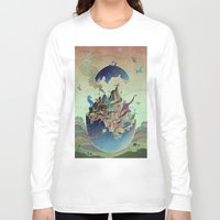 imagination Long Sleeve T-shirts featuring Imagination  by dreamshade
