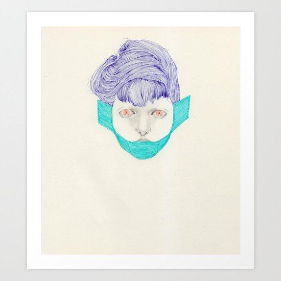 Untitled Head Art Print