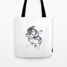 Crazy Rabbit Tote Bag