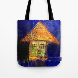 Yellow roof Tote Bag