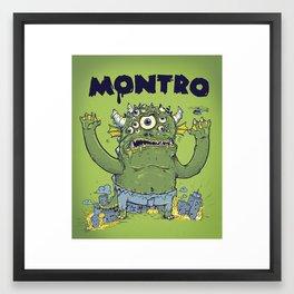 Montro Framed Art Print