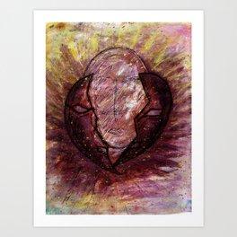 Identity Release - Borderline Personality Disorder Art Print