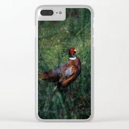 Pheasant Clear iPhone Case