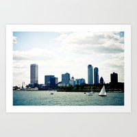 milwaukee Art Prints featuring Milwaukee, WI by T. Todd Photos
