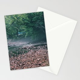 just breathe #3 Stationery Cards