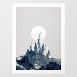 Full moon 2 Art Print